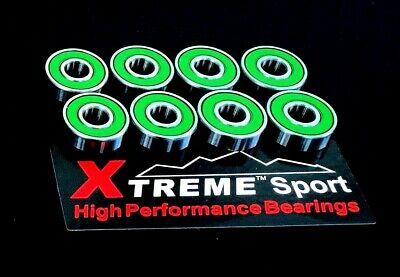 Xtreme ABEC 11 608 RS STUNT SCOOTER SKATEBOARD WHEEL BEARINGS SUPER SPIN&QUALITY • 23.03£