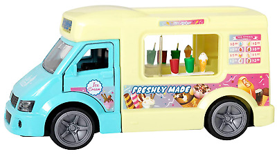 Brand New Teamsterz Ice Cream Van Truck Toy - Light And Sound Musical Vehicle  • 7.99£