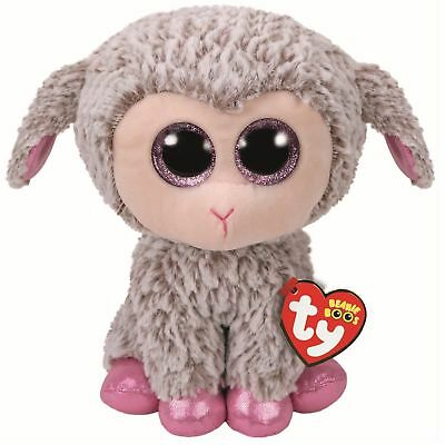 Official Ty Beanie Babies Boos Easter Lamb Dixie Plush Soft Toy New With Tags • 7.95£