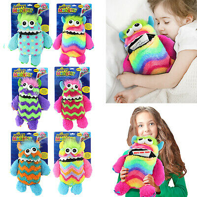 Worry Monster Cuddly Toy Eats Zip Up Mouth Loves Worries Bad Nightmare Dreams • 7.99£