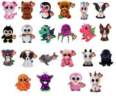 Ty Beanie Boos 6 Inch 15 Cm Plush Soft Toys Choose From A Selection New With Tag • 4.50£