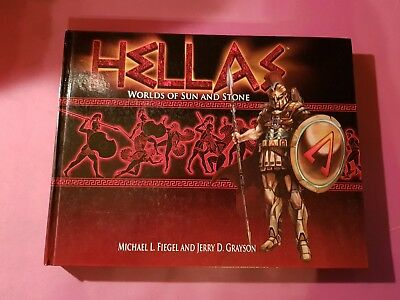 Hellas : Worlds Of Sun And Stone - Core Book Roleplaying Game Rpg Scifi Ancients • 29.99£