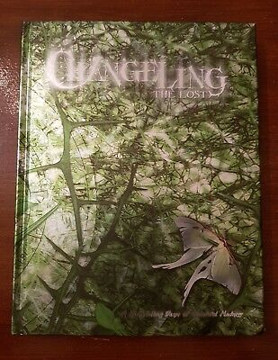 Changeling The Lost - Hardback Rare White Wolf World Of Darkness Rpg Roleplaying • 49.99£