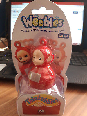 Teletubbies Weebles - Po Weeble - New • 7.99£