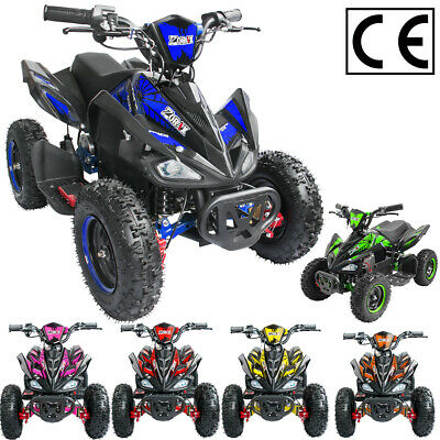 LEOPARD 6  Wheel 1000W 36V Electric Kids QUAD BIKE Junior RIDE ON MIDI Mini ATV • 494.95£