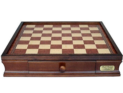 NEW Dal Rossi Italy Wooden Chess Storage BOX 16  2 Drawer Pieces Sold Separately • 110.86£