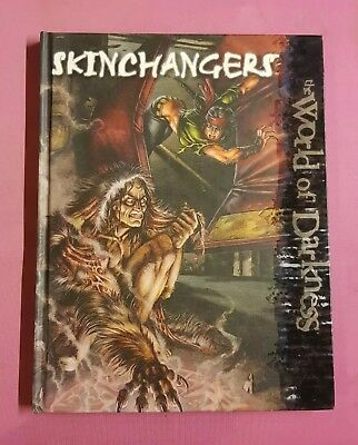 Skinchangers - New World Of Darkness White Wolf Rpg Roleplaying Nwod Roleplay Ww • 34.99£