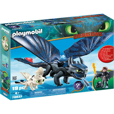 Playmobil Dreamworks Dragons Hiccup & Toothless With Baby Dragon 70037 • 37.99£