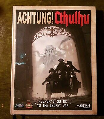 Achtung Cthulhu Keepers Guide - Call Of Savage Worlds Mythos Rpg Roleplaying  • 24.99£