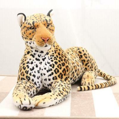 87CM Giant Large Simulation Leopard Plush Soft Toy Stuffed Animal Doll Xmas Gift • 39.10£