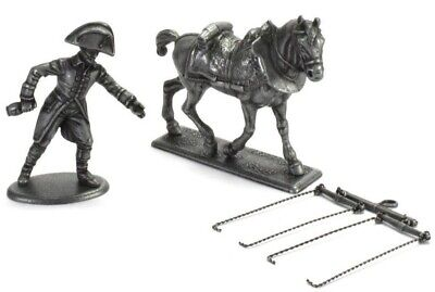 Figure Soldier Napoleonic War Austerlitz Metal Horse Harness Lakai 1/32 Atlas • 8.49£