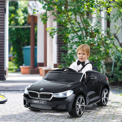 Licensed BMW 6GT 6V Kids Ride On Car Electric Battery Powered Music Play With • 146.99£