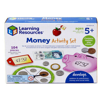 Learning Resources Money Activity Set With UK Play Money - LSP3219 • 15.99£
