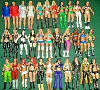 Wwe Wrestling Figures Mattel Divas Women Elite Wwf Choose A Wrestler • 9.99£