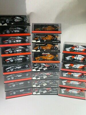 MINICHAMPS 1/43 Formula 1 McLaren Racing Car MINT SELECTION PLEASE CHOOSE • 49.99£
