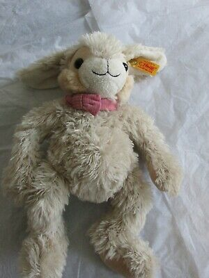 **LOOK** MINT Condition STEIFF Rabbit Complete With Coloured Bowtie And Ear Tag • 35£