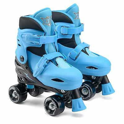 Xootz Quad Skates Blue Size Medium 13-3 Junior Fun Kids Outdoor Toy Gift • 27.99£