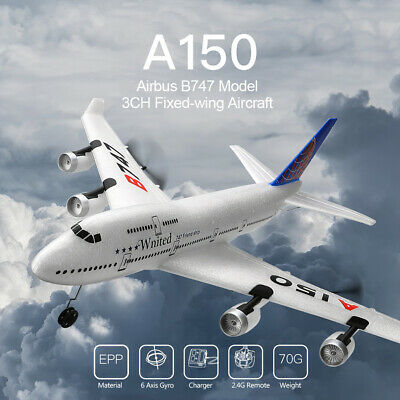 Wltoys XK A150 Airbus B747 Model Plane RC Fixed-Wing 3CH EPP 2.4G RC Toy D8N7 • 33.59£