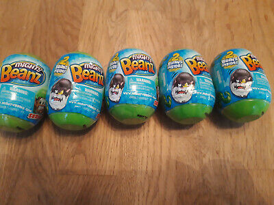 Mighty Beanz 2 Pack Capsule - Green Set -  Recieve 5 In This Sale - New • 9.99£