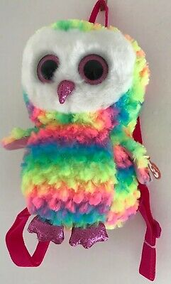 "TY Gear Collection ~ Owen The Owl ~ Small Backpack ~ 11"" • 14.99£"