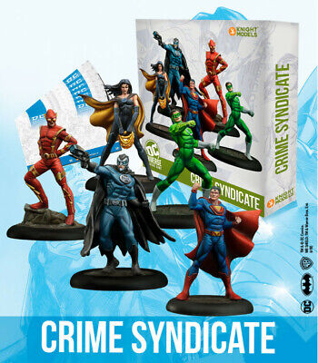 Knight Models DC Universe Miniature Game - Crime Syndicate • 39.99£
