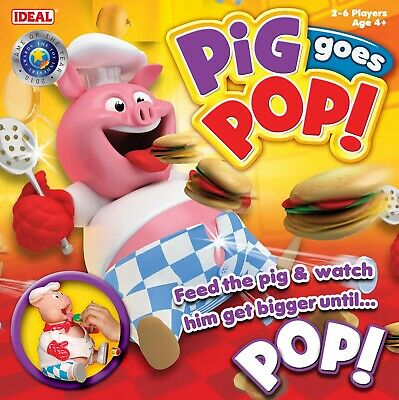 Pig Goes Pop Game From Ideal • 19.99£