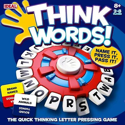 Think Words Game From Ideal • 19.99£