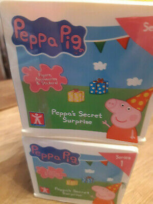 Peppa Pig Peppa's Secret Surprise Series 1 - Recieve 2 Boxes In This Sale  - New • 17.99£