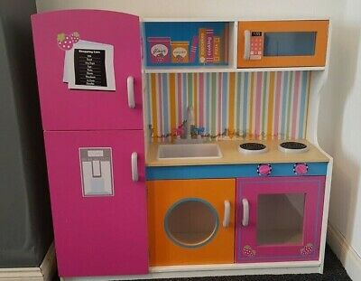 Kids Multi-Colour Wooden Play Kitchen/Role Play/Pretend • 48£