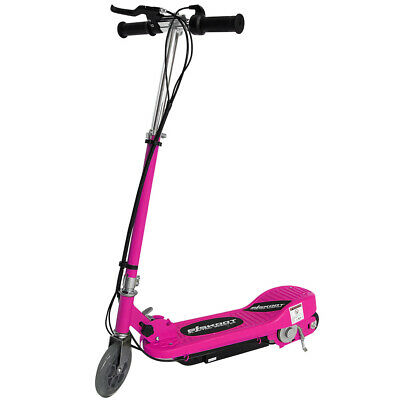 Kids Electric Scooter Pink Escooter 24v Ride On Battery Childrens Toy Fast Bike • 79.99£