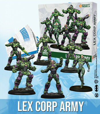 Knight Models DC Universe Miniature Game - Lexcorp Army • 41.99£