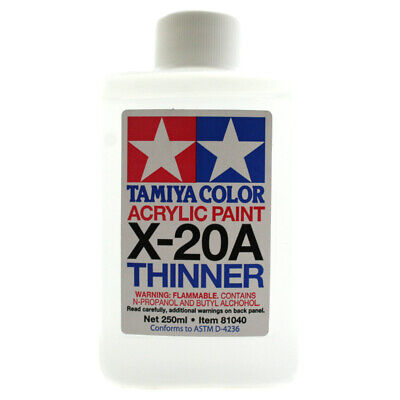 Tamiya X Acrylic Paint Thinner X-20A 250ml • 8.99£