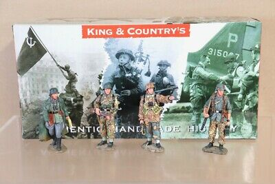 KING & COUNTRY WSS050 WWII GERMAN FORCES 1944 The PATROL SET BOXED Nv • 99.50£