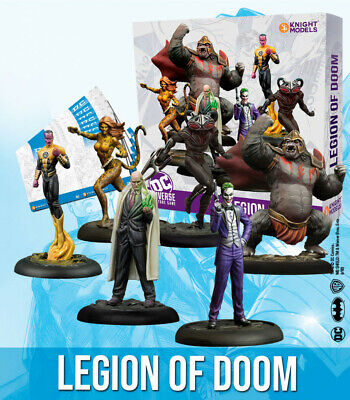 Knight Models DC Universe Miniature Game - Legion Of Doom • 48.99£