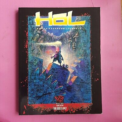 Hol : Human Occupied Landfill Rpg Roleplaying Black Dog Games White Wolf Rare  • 74.99£