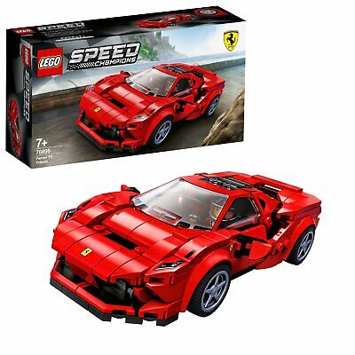 LEGO Speed Champions Ferrari F8 Tributo Car Set - 76895 • 18£