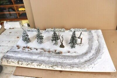 J G MINIATURES WWII BATTLE Of The BULGE DIORAMA Compatible With King & Country • 149.50£