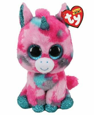 Official Ty Beanie Babies Boos Gumball Unicorn Plush Soft Toy New With Tags • 7.95£
