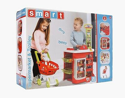 Smart Supermarket And Trolley • 22.99£
