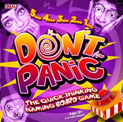 Don't Panic Game By IDEAL • 17.99£