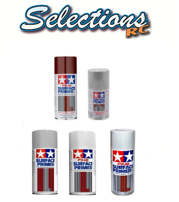 Tamiya Surface Primer Spray Fine Surface Primer Available In Grey Or White • 10.65£