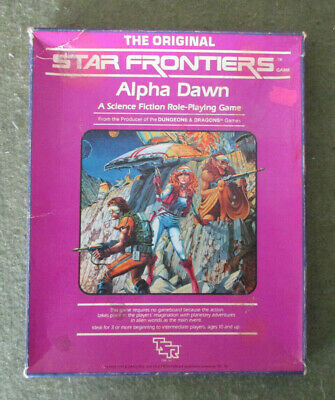 Tsr, Star Frontiers Rpg - Alpha Dawn Boxed Set (1982) • 39.95£