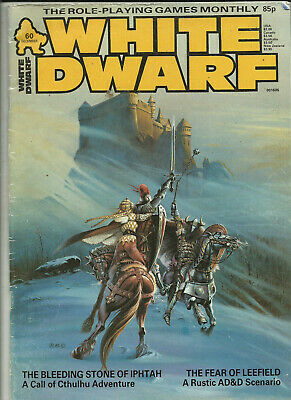 White Dwarf Magazine - #60 (ad&d, Call Of Cthulhu, Traveller) 1984 • 4.95£
