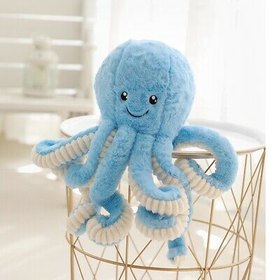 Cute Octopus Stuffed Soft Plush Doll Pillow Lovely Animal Toy Gift For Kids Gift • 11.93£