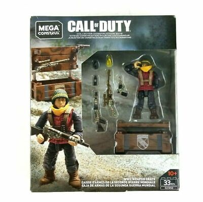 Mega Construx Call Of Duty WWII Weapon Crate - New In Stock • 17.99£