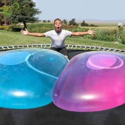 NEW 110cm Big Amazing Bubble Ball Water-filled Interactive Rubber Balls Outdoor • 14.69£