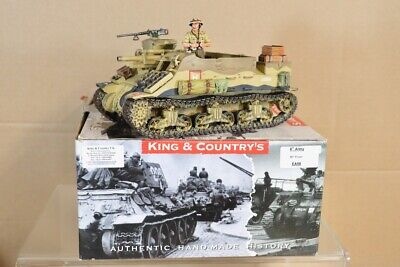KING & COUNTRY EA058 WWII BRITISH 8th ARMY M7 PRIEST ARMOURED PERSONNEL CARRIER • 199.50£