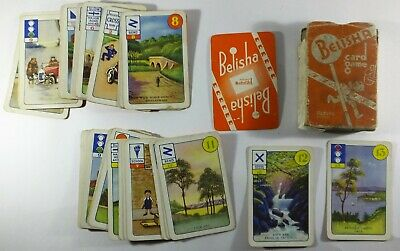 Vintage Belisha Card Game Made In England Playing Cards • 20.95£