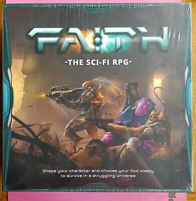 Faith The Sci-fi Rpg - Complete Game Boxed Set Sealed Roleplaying Roleplay New • 49.99£