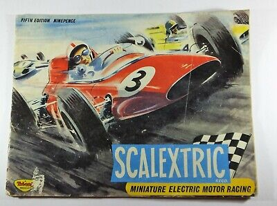 Scalextric Triang Instruction Manual Fifth 5th Edition Vintage Ninepence  • 14.95£